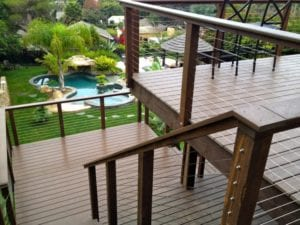 IPE Brazilian Hardwood Cable Railings Kits from San Diego Cable Railings