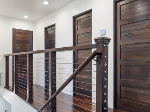 Wood Framed Cable Railing Kits from San Diego Cable Railings