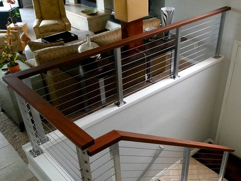Stainless cable railings san diego cable railings cable hand rail selections from our portfolio solutioingenieria Gallery