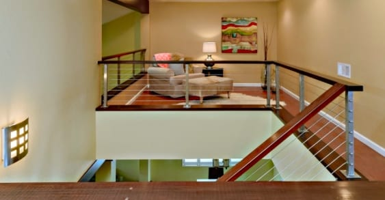 San diego cable railings san diego cable railings wall mounted loft railing solutioingenieria Images