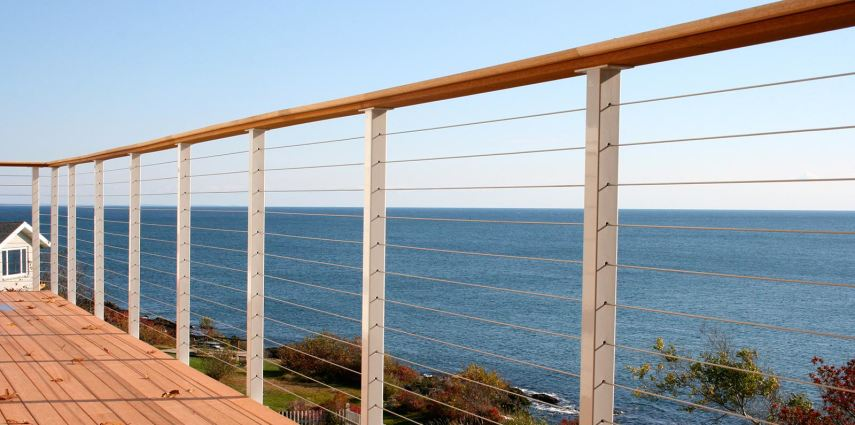 Stainless Cable Fencing - San Diego Cable Railings