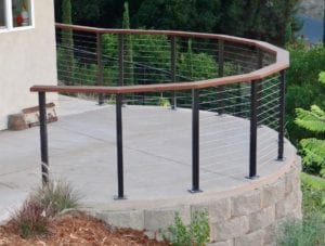 radius railings