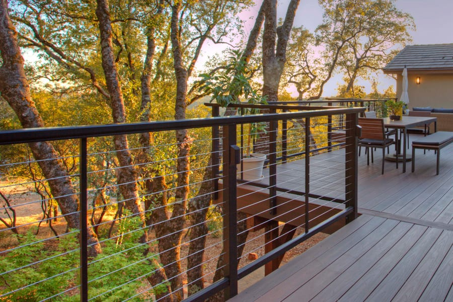 Feeney aluminum railing systems san diego cable railings