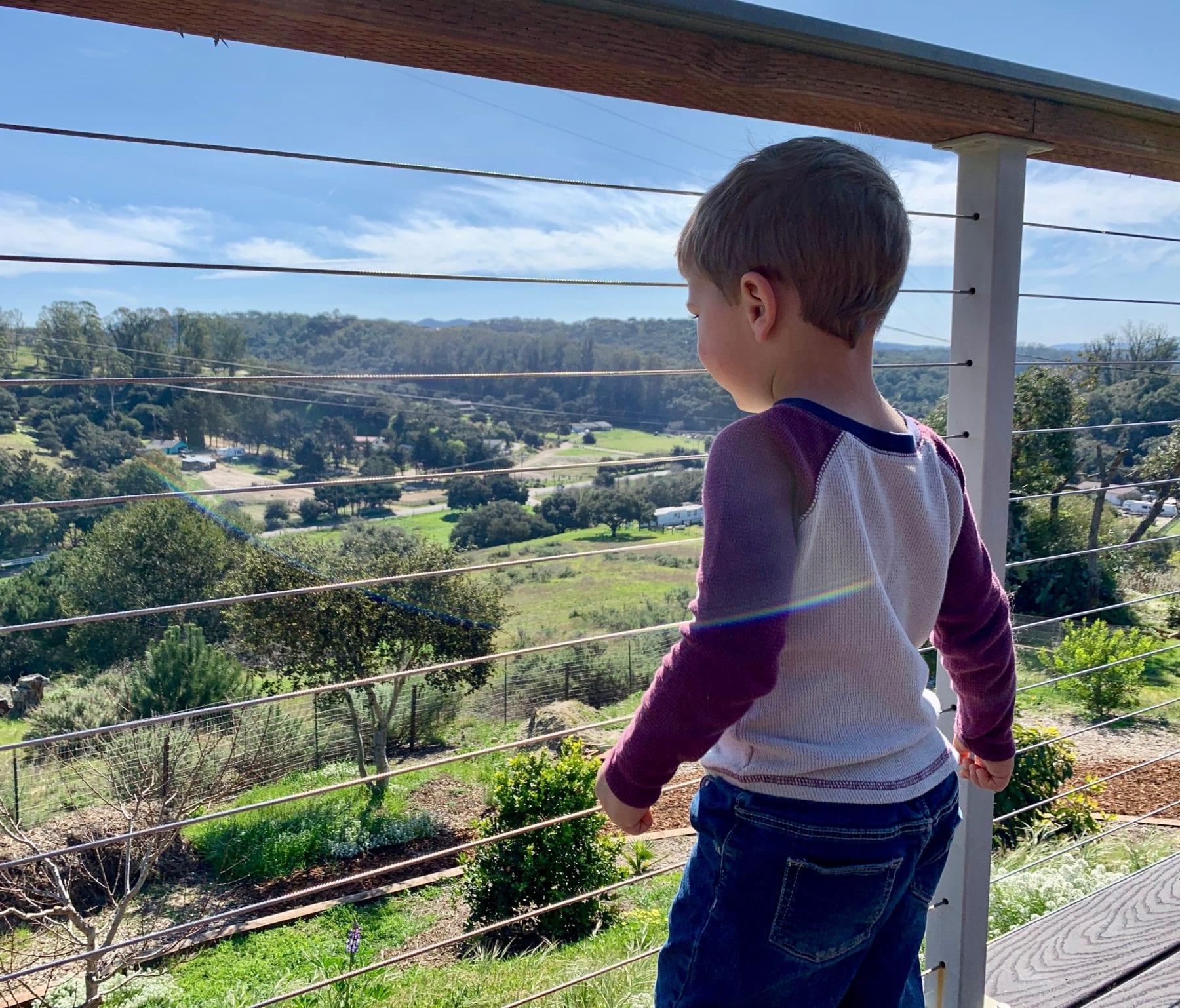 Toddler Resistant Railings - San Diego Cable Railings